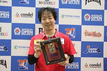 masters シングルス 3位
